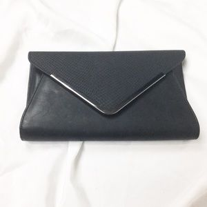 Aldo Black Derolja Envelope Clutch